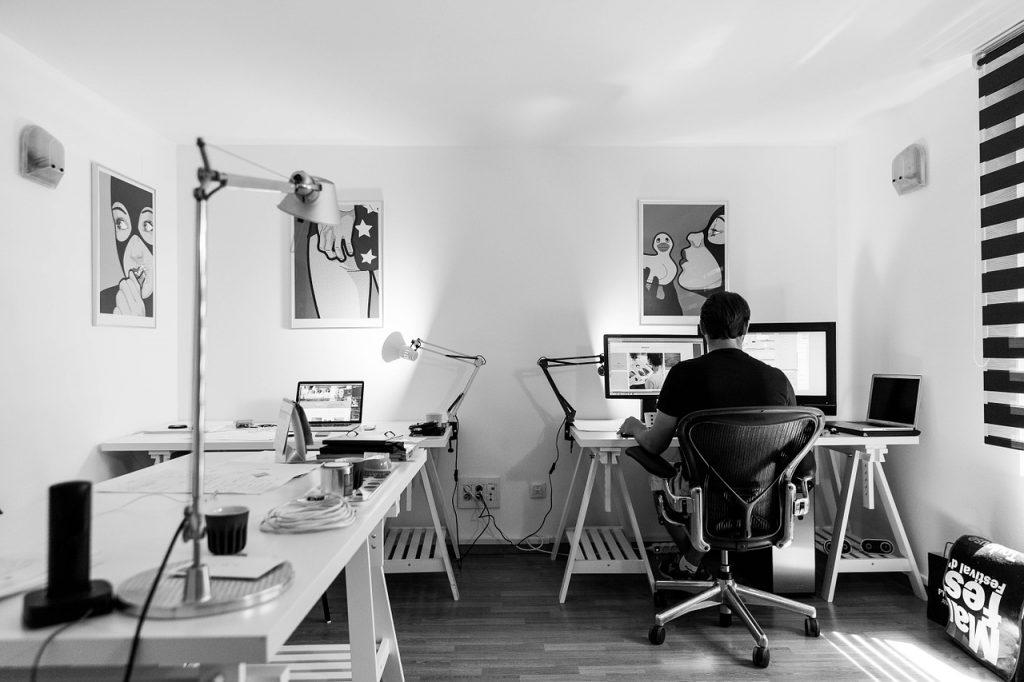mobilier de l'espace de travail